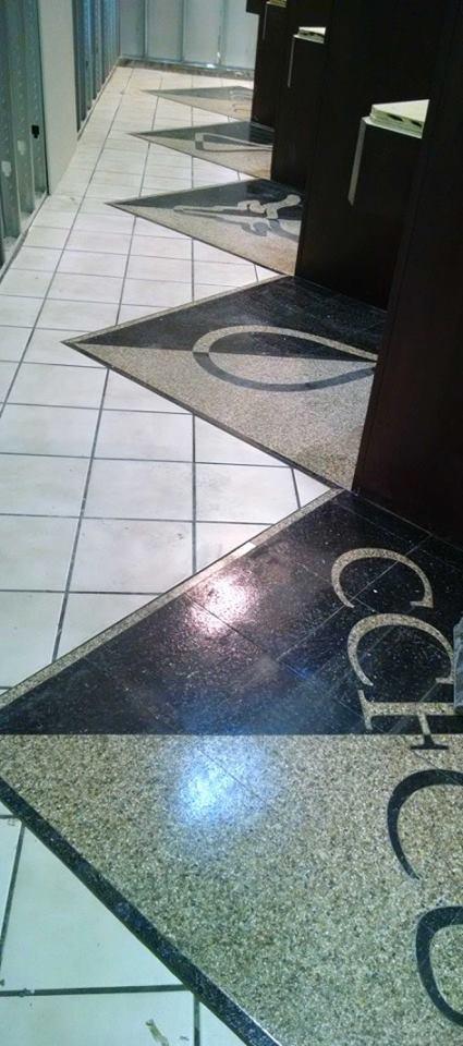 CFCU tile installed