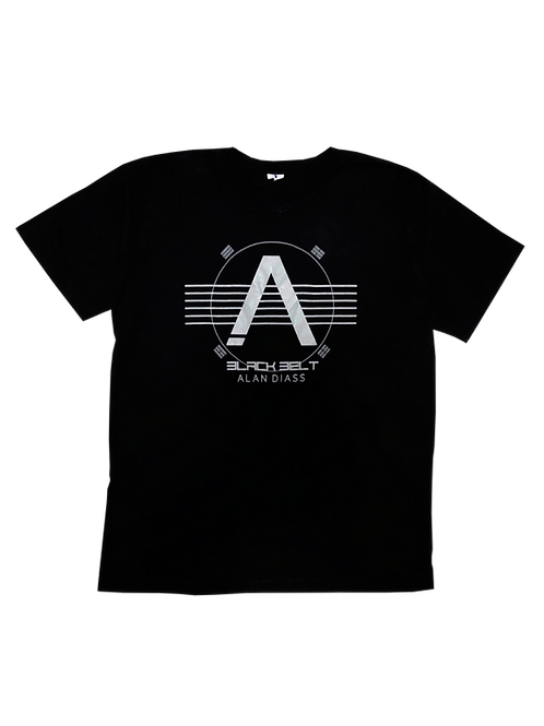 Camisetas Alan Diass - Black Belt