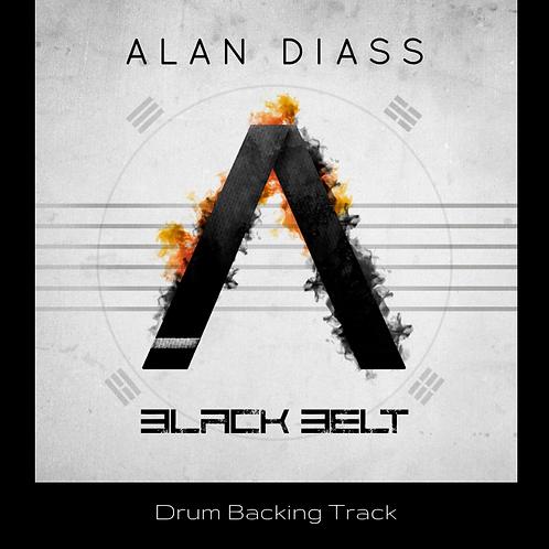 Alan Diass - Black Belt (Drum backing track)