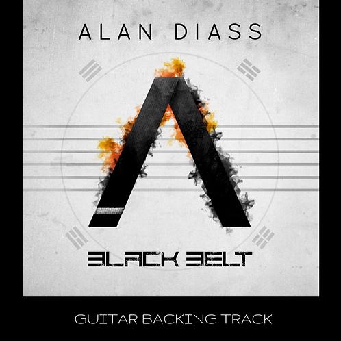 Alan Diass - Black Belt (Guitar Backing track)
