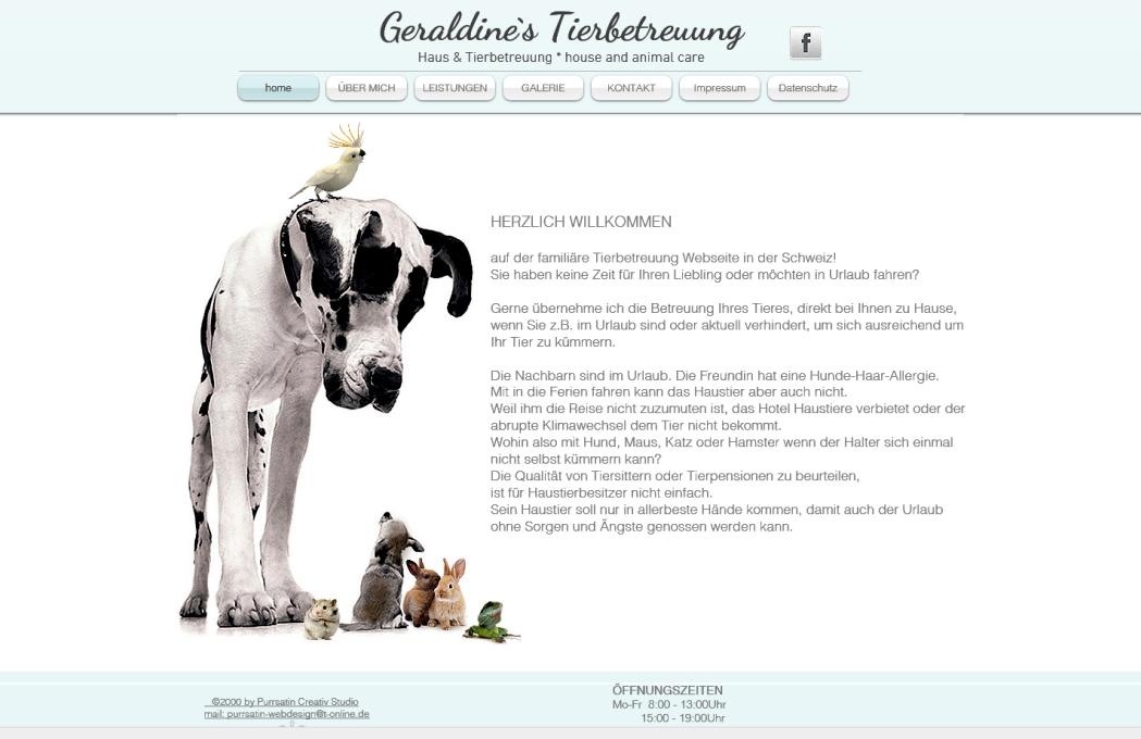 Geraldine`s Tierbetreuung