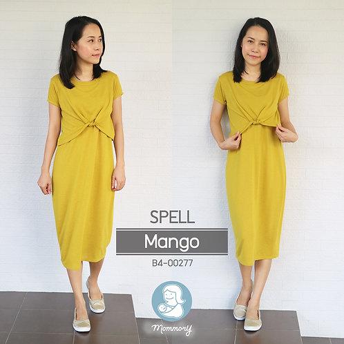 Spell (Mango) -  ชุดให้นม แบบเปิดหน้า