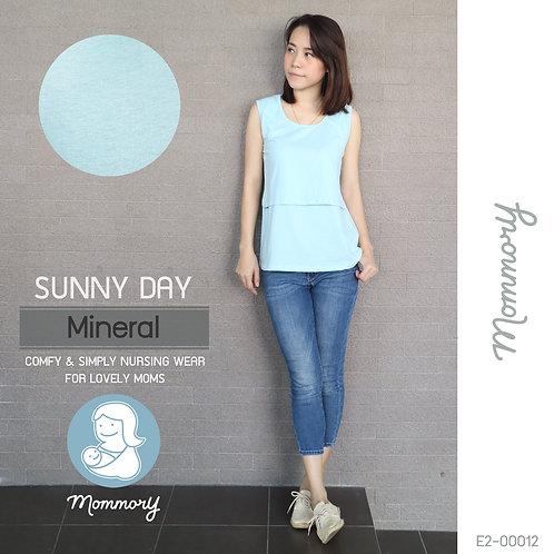 Sunny Day (Mineral) - เสื้อแขนกุดให้นม