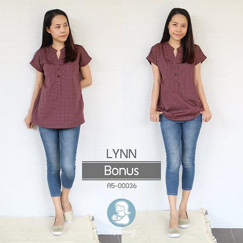Lynn (Bonus) - เสื้อให้นม แบบกระดุมหน้า