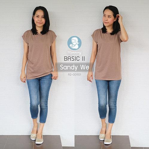 Basic II (Sandy We) - เสื้อให้นม แบบแหวกข้าง