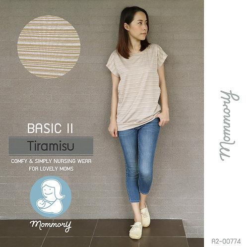 Basic II (Tiramisu) - เสื้อให้นม แบบแหวกข้าง