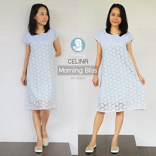 Celina (Morning Bliss) - ชุดให้นมแบบซิปซ่อน : 690 THB