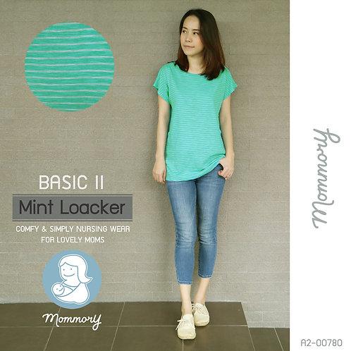 Basic II (Mint Loacker) - เสื้อให้นม แบบแหวกข้าง