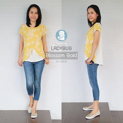 Ladybug (Blossom Gold) - เสื้อให้นม แบบแหวก