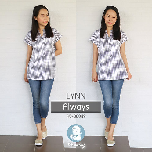 Lynn (Always)    - เสื้อให้นม แบบกระดุมหน้า