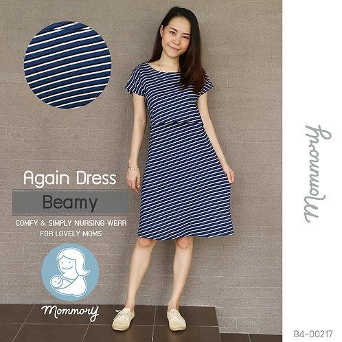 Again Dress (Beamy) -  ชุดให้นม แบบเปิดหน้า