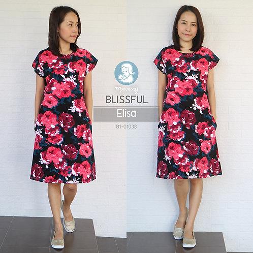 Blissful (Elisa) - เสื้อให้นม/ชุดให้นม แบบแหวก