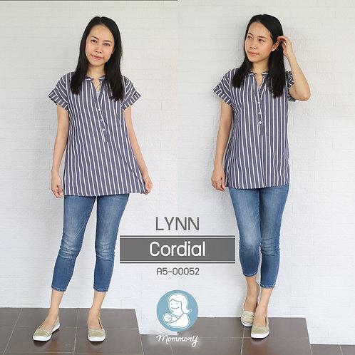 Lynn (Cordial)   - เสื้อให้นม แบบกระดุมหน้า