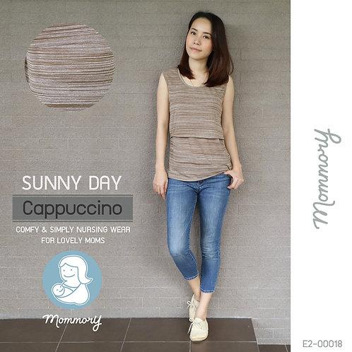 Sunny Day (Cappuccino) - เสื้อแขนกุดให้นม