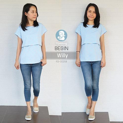 Begin (Willy) - เสื้อให้นม แบบเปิดหน้า