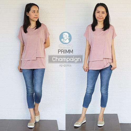 Primm (Champaign) - เสื้อให้นม แบบแหวก