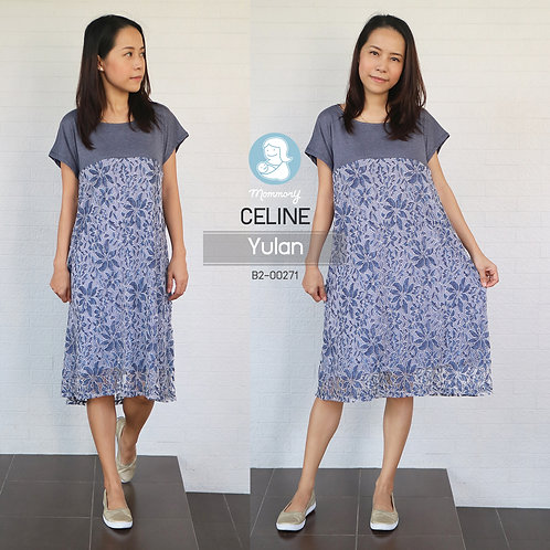 Celine (Yulan) - ชุดให้นมแบบซิปซ่อน : 690 THB (Plus Size)