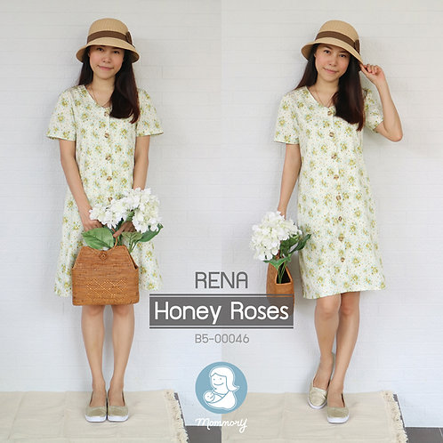 Rena (Honey Roses) - ชุดให้นม แบบกระดุมหน้า