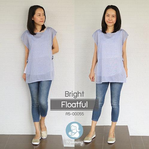 Bright (Floatful)  - เสื้อให้นม แบบกระดุมข้าง