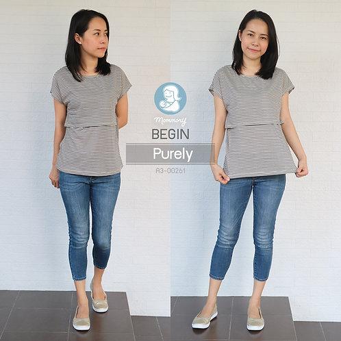 Begin (Purely) - เสื้อให้นม แบบเปิดหน้า