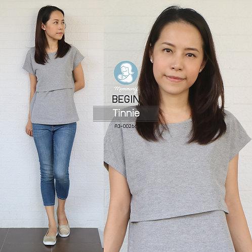 Begin (Tinnie) - เสื้อให้นม แบบเปิดหน้า