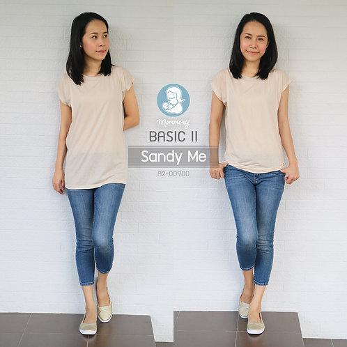 Basic II (Sandy Me) - เสื้อให้นม แบบแหวกข้าง