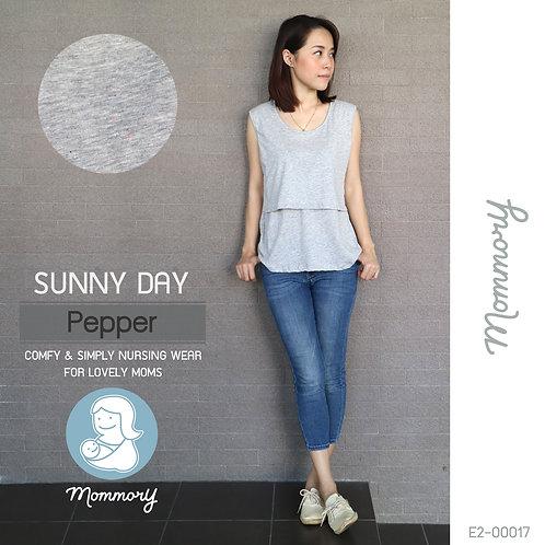 Sunny Day (Pepper) - เสื้อแขนกุดให้นม