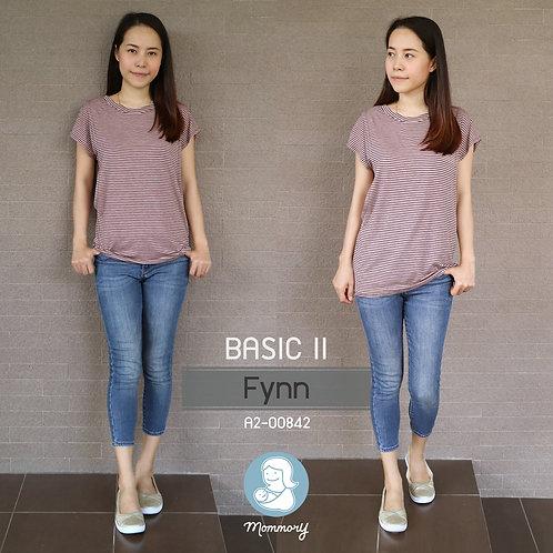 Basic II (Fynn) - เสื้อให้นม แบบแหวกข้าง