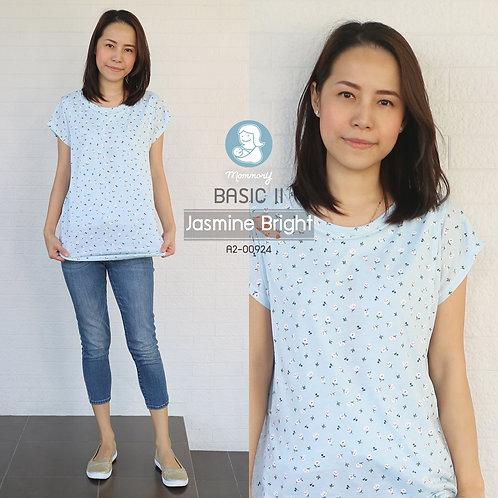 Basic II (Jasmine Bright) - เสื้อให้นม แบบแหวกข้าง