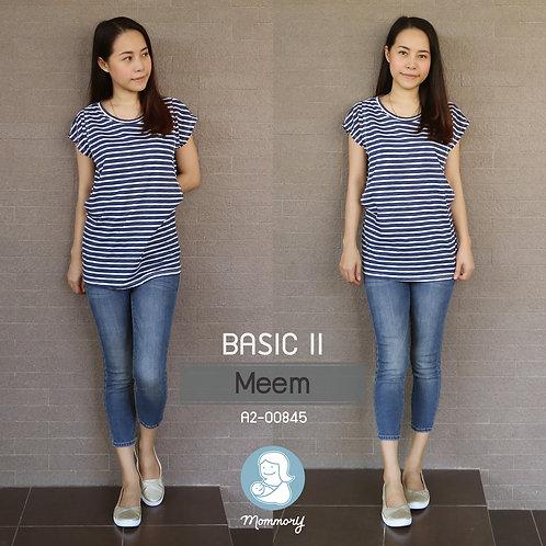 Basic II (Meem) - เสื้อให้นม แบบแหวกข้าง