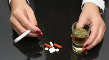 "Is ""controlled drinking"" or ""harm reduction"" a legitimate goal for treating persons with substance u"