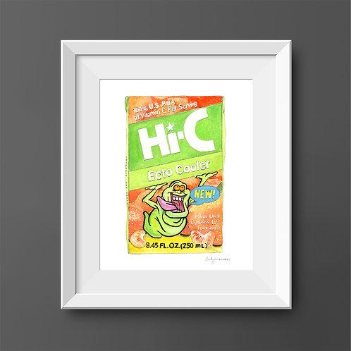 Hi-C Ecto Cooler *ORIGINAL PAINTING*
