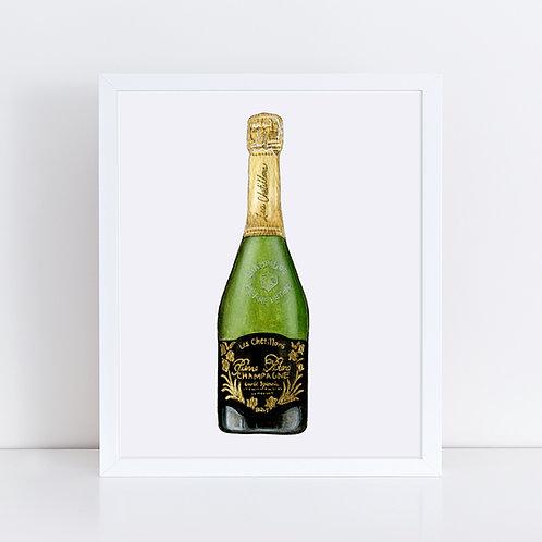 Pierre Peters Champagne Bottle