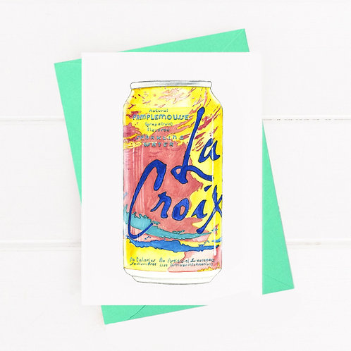 La Croix - Greeting Card