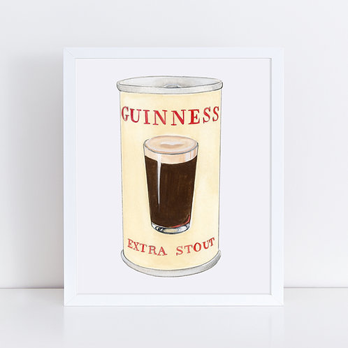 Guinness Extra Stout Can