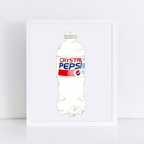 Crystal Pepsi *ORIGINAL PAINTING*