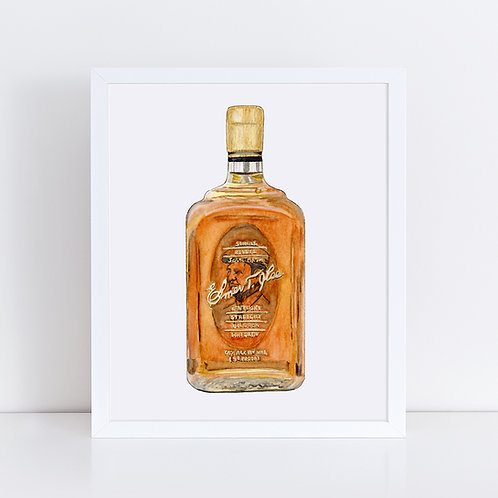 Elmer T. Lee Bourbon Bottle
