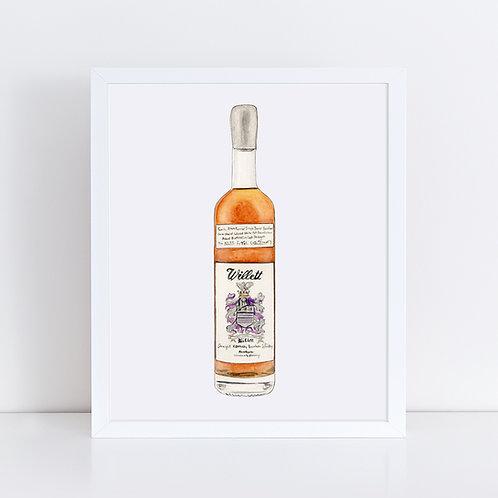 Willett Straight Kentucky Bourbon Bottle