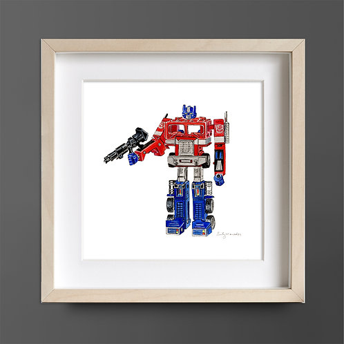 Transformer *ORIGINAL PAINTING*