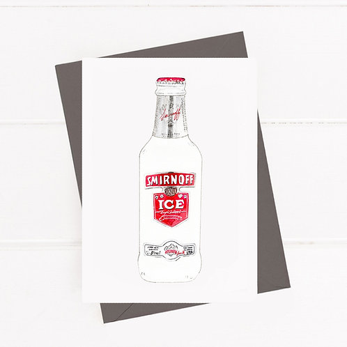 Smirnoff Ice - Greeting Card