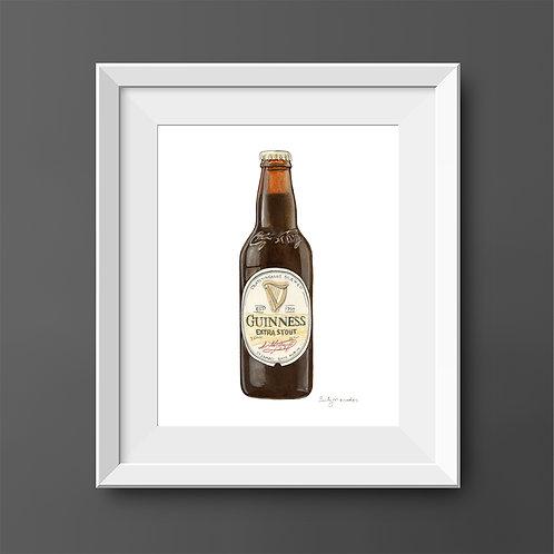 Guinness Extra Stout Bottle *Original Painting*