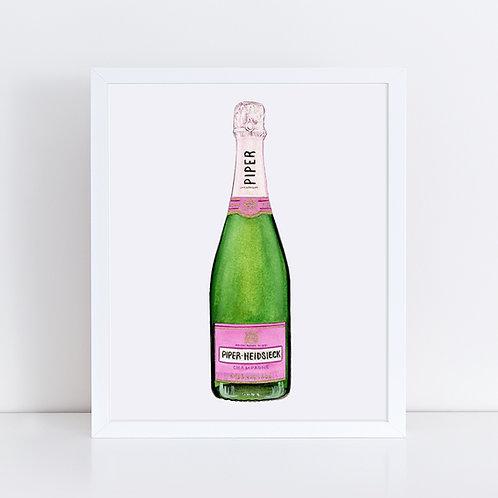 Piper-Heidsieck Rosé Champagne Bottle
