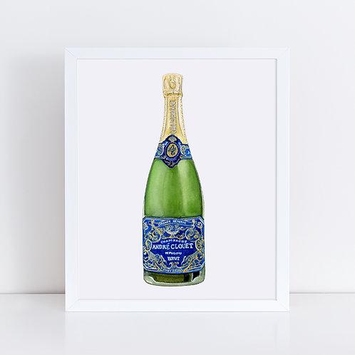 André Clouet Champagne Bottle