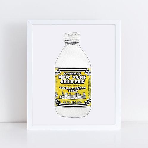 New York Seltzer - Vanilla Cream Soda