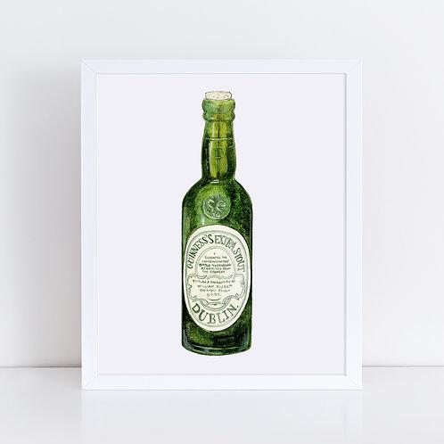 Guinness Dublin Green Bottle