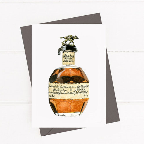 Blanton's Bourbon - Greeting Card