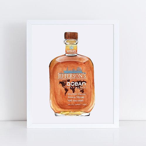 Jefferson's Ocean Bourbon Bottle