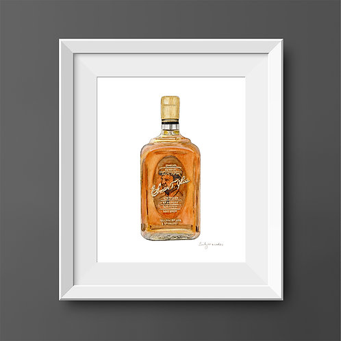 Elmer T. Lee Bourbon Bottle *ORIGINAL PAINTING*