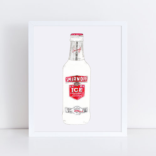 Smirnoff Ice *ORIGINAL PAINTING*