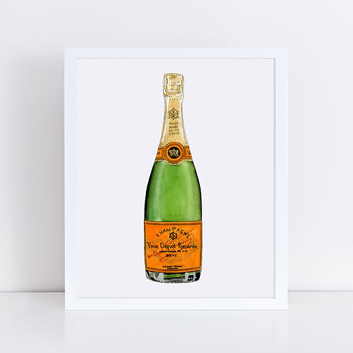 Veuve Clicquot Champagne Bottle